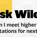 Ask Wiley: How can I meet higher income expectations for next year?