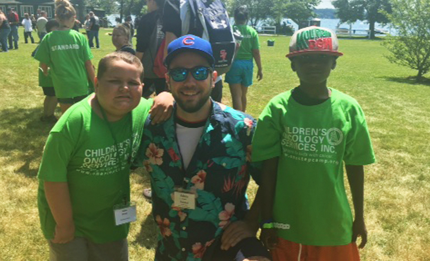 When you're a kid with cancer, it's hard to be treated as a kid and enjoy all the normal activities that an 11-year-old should be doing.  At camp, it created that normal atmosphere that was so important.