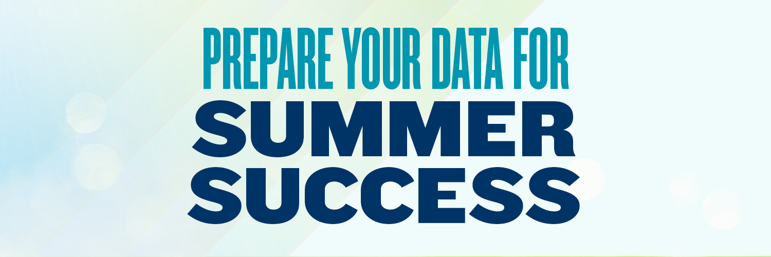 As you approach the summer months, traditionally a season of reduced giving, get ahead of the curve and make sure your data is performing the way it should be.