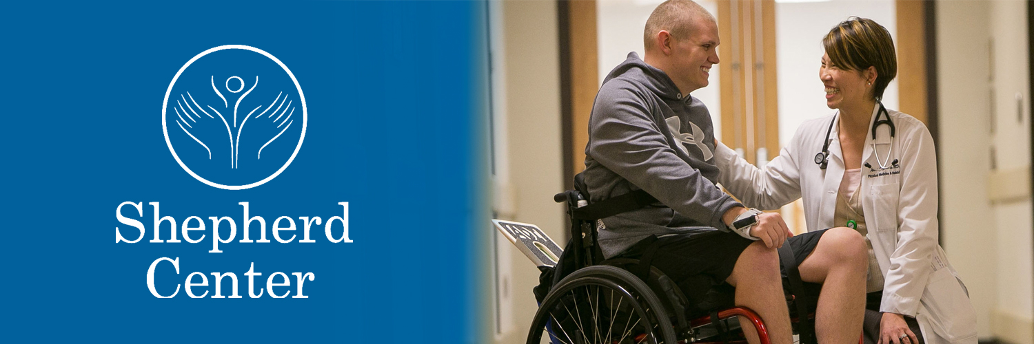 We're privileged to announce our partnership with Shepherd Center, ranked among the nation's top ten rehabilitation hospitals for spinal cord and brain injury.
