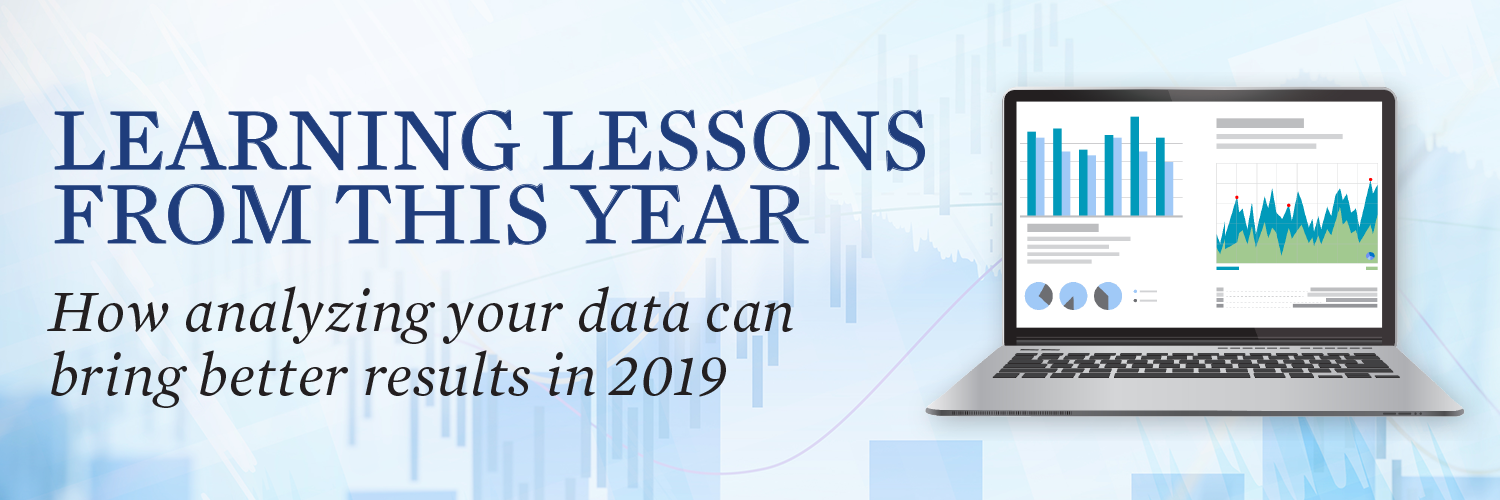 As you close the books on 2018, now is the time to review your donor file trends and gather information you need to improve your fundraising in 2019.