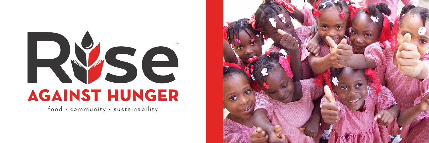 We're delighted to announce our partnership with Rise Against Hunger, an international hunger relief organization that distributes food and life-giving aid to the world's most vulnerable. Serving people in 74 countries, Rise Against Hunger is headquartered in Raleigh, NC.