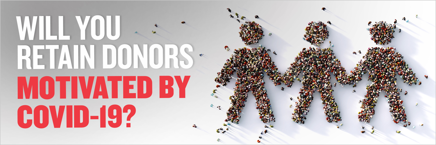 It's pretty clear that new COVID-motivated donors aren't behaving like disaster donors —